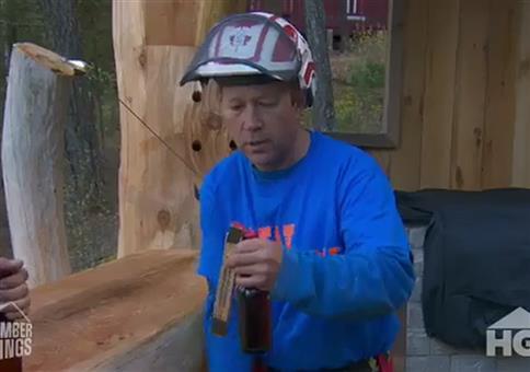 Viele Möglichkeiten auf ner Baustelle sein Bier zu öffnen