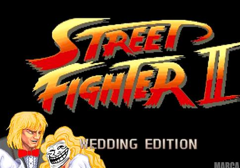 Street-Fighter: The Wedding Edition