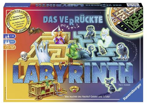Das verrückte Labyrinth - Jubiläums-Version für 15 Euro!