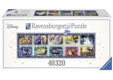 Riesen Puzzle mit über 40.000 Teilen