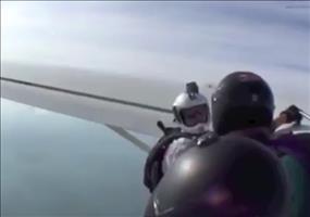 Ohnmacht bei Fallschirmsprung
