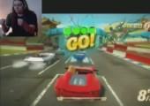 XBox Kinect - Rennspiel für Kinder