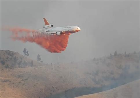 Flugzeuge gemeinsam gegen den Flächenbrand