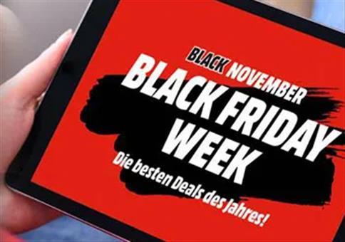Black Week bei Saturn & MediaMarkt ab Sonntag 18 Uhr