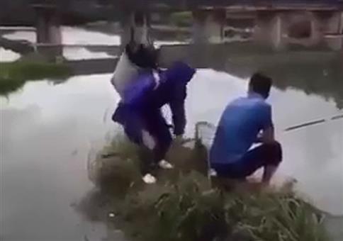 Epischer Fail beim Angeln