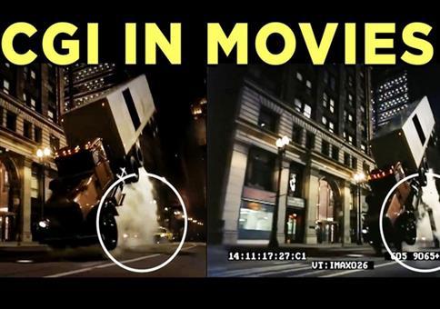 CGI in Filmszenen, in denen man sie nicht vermutet hätte