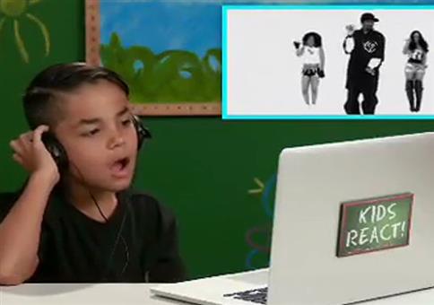 Wenn Kinder Snoop Dogg zum ersten Mal tanzen sehen
