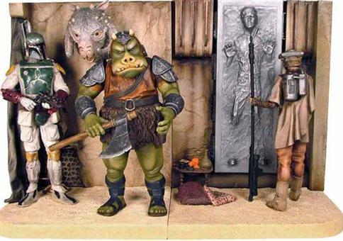 Star Wars Buchstützen Jabba`s Palace