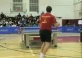 Jubelnder Tischtennisspieler