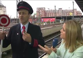 Der typische Bahnstreick Bericht