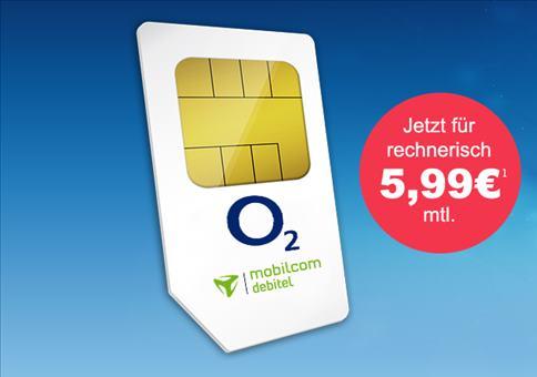 Kracher: Allnet-Flat für 5,99€!