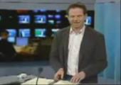 Nachrichtensprecher bekommt Lachanfall