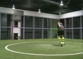 The Footbonaut - Fußball Trainingsgerät der Zukunft
