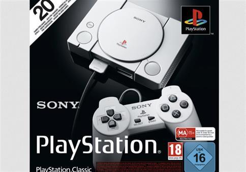 Playstation Classic mit 20 vorinstallierten Spielen nur 39,99€