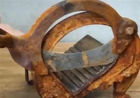 Ein altes Werkzeug restaurieren