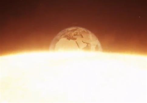 Sonne, Erde und Mond