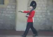 Windsor Wache findet ihren Job zum kotzen