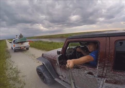 Jeep GoPro Selfie Fail mit Folgen