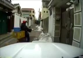 Luftpost per Moped