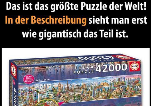 42.000 Teile Puzzle