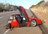 Luxus Cars geschrottet