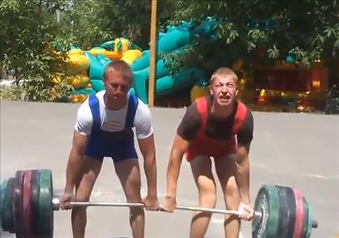 Russisches Deadlift Duo