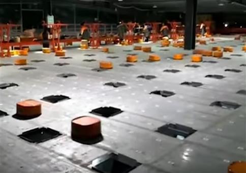 Eine Armee von Robotern