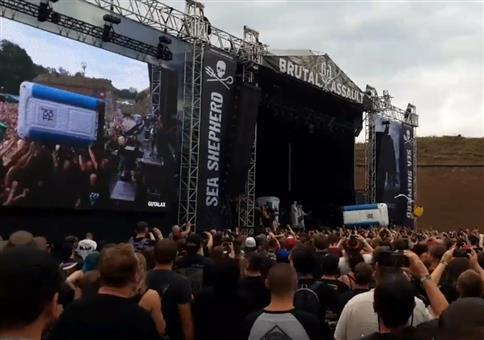 Neulich bei nem Metal-Konzert