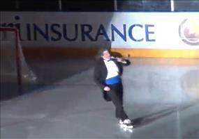Kanadische Nationalhymne beim Eishockey