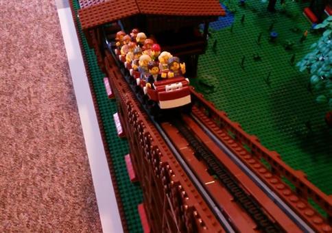 Lego Achterbahn