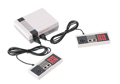 Nintendo NES Nachbau mit 600 Classic Games für 13,74€