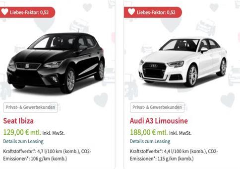 Leasingmarkt: Singles Week Lagerwagen Knallerangebote