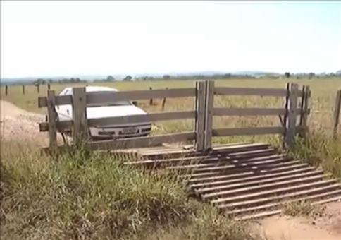 Automatiktor aus Holz