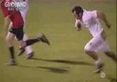 Hoser unter beim Fußball