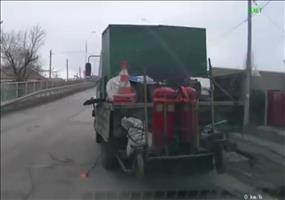 Transportsicherung in Russland