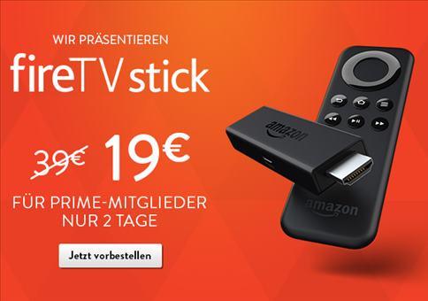 Amazon Fire TV Stick für unglaublich 19 Euro!