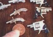 Kleinsten Pistolen der Welt