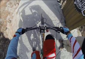 Downhill Mountain Biking - Redbull Rampage POV