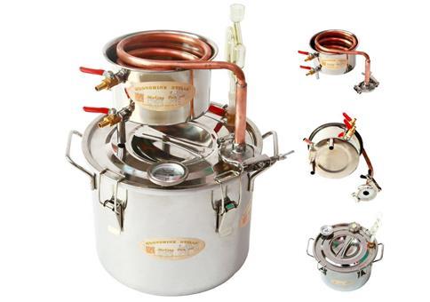 20 Liter Destillieranlage zum Schnapsbrennen
