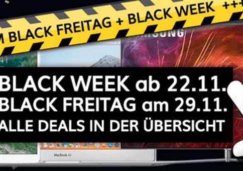 Black Freitag & Cyber Monday 2019 – Angebote in der Übersicht