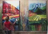Malen ohne Pinsel