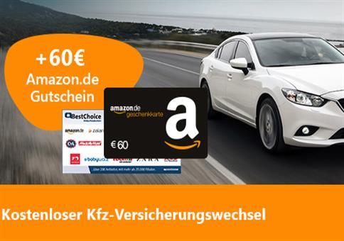 WOW: Bis 850€ sparen beim Kfz-Tarif + 60€ Bonus!