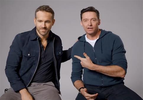 Ryan Reynolds und Hugh Jackman schließen Frieden