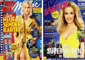 Verschiedene TV Zeitschriften Jahresabos fast kostenlos!