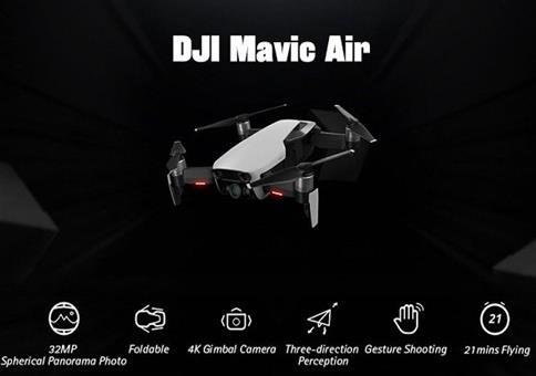 DJI Mavic Air Drohne Fly More Combo für 880,92€ (statt 1038€)