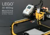 Lego Fräsmaschine