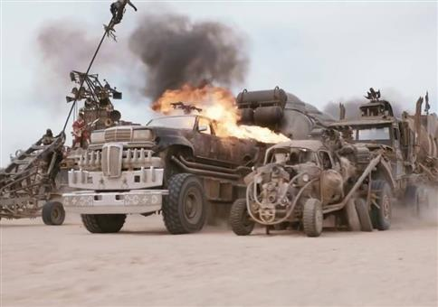 Mad Max: Fury Road ohne Spezialeffekte