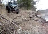 So steigt man aus einem Geländewagen aus