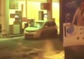 Erstmal das Auto waschen