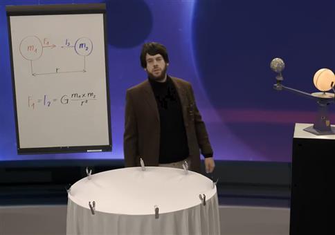 Wie genau funktioniert Gravitation?
